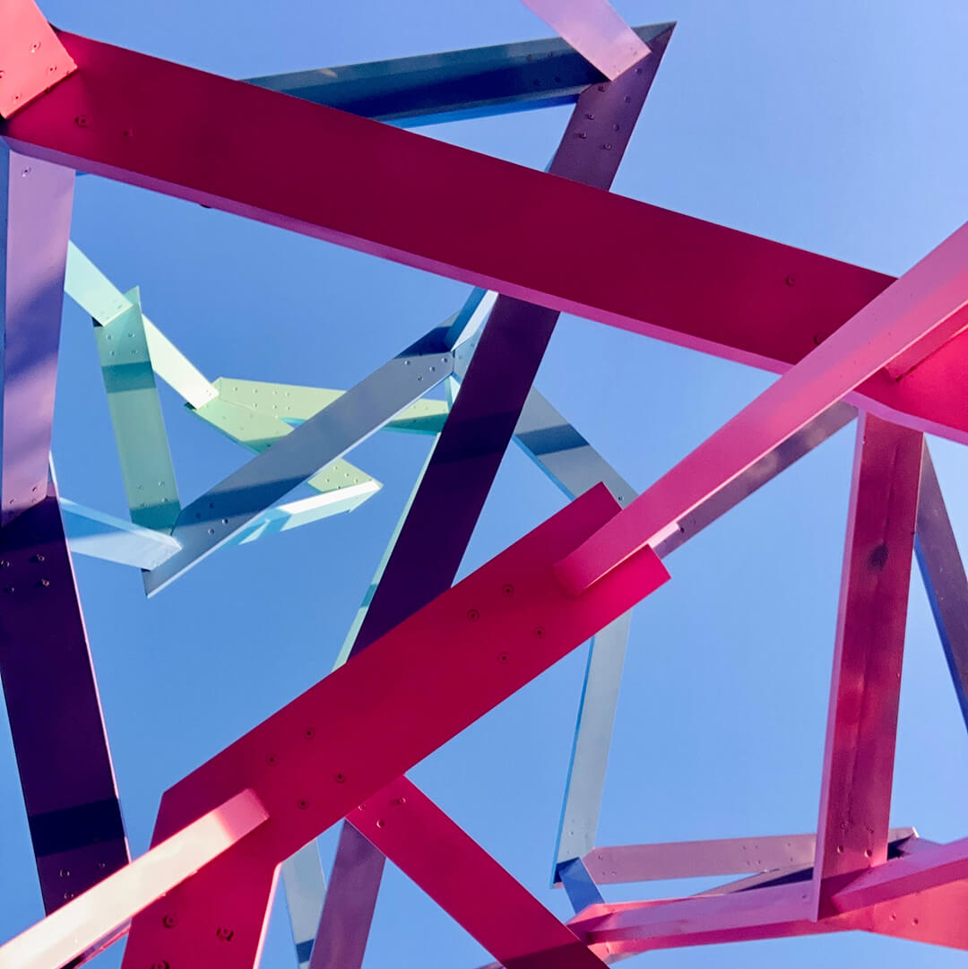 Abstract coloured structure
