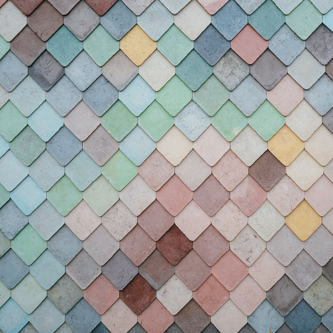 Pastel tiles background